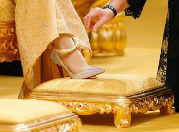 Будущий султан Брунея сыграл роскошную свадьбу.