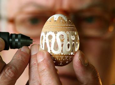 Пасхальные яйца, созданные талантливым ремесленником из Словении