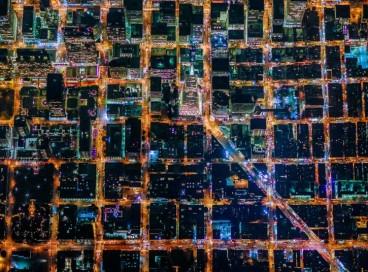 Великолепные фотографии ночных городов