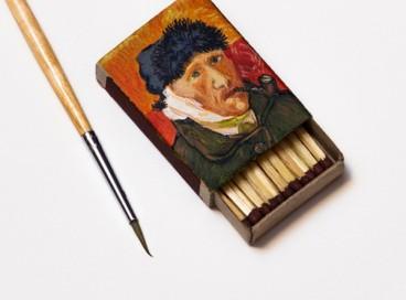 Картины Ван Гога руками русского художника-скульптора