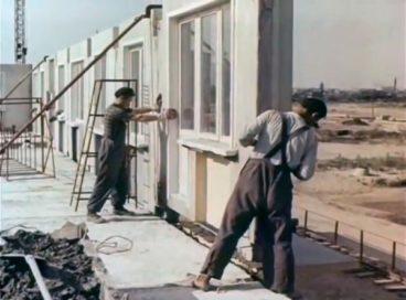"""Строительство """"хрущевок"""" в 1963 году"""